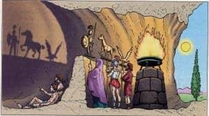 """""""El Mito de la Caverna"""" ¿te quedarás en la oscuridad ignorando el verdadero Conocimiento?"""