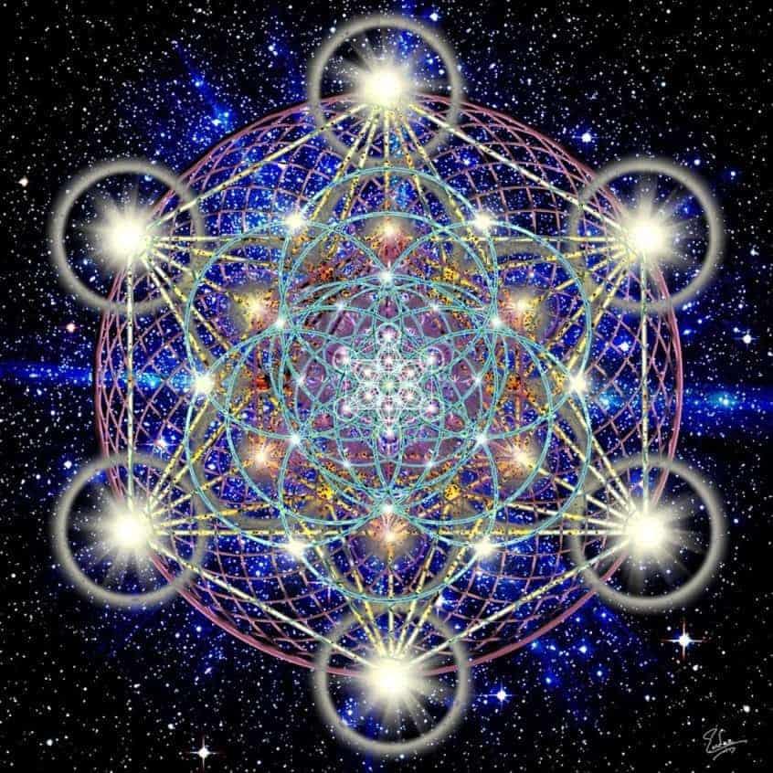 20170516 rosa id125814 Metatrón símbolos de geometría sagrad - Radiando desde el Campo Unificado de Divinidad, un Mensaje del Arcángel Metatrón - hermandadblanca.org
