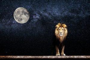 Posición de la Luna en el zodiaco