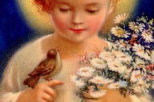 El nacimiento del Hijo Divino: Estudio de un símbolo cristiano.