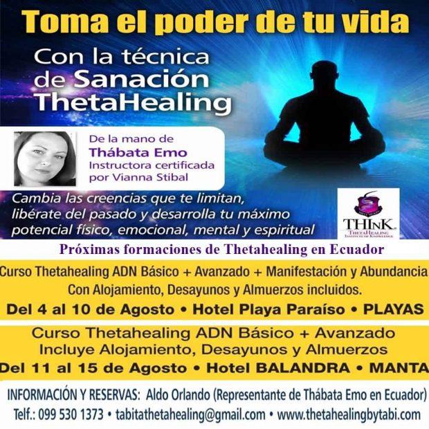 20170606 jorge id126649 20170606 thetahealing ecuador cartel 01 - Súper-Pack Thetahealing + Vacaciones en Ecuador Del 04 al 10 de Agosto de 2017 - hermandadblanca.org