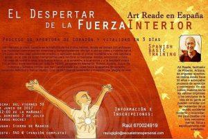 ¡Ultimas plazas!, «El despertar de la Fuerza Interior» Art Reade en España. Julio 2018