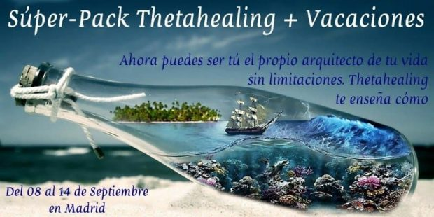 20170619 jorge id128052 20170619 thetahealing madrid cartel 1 - Súper Pack Formación intensiva Thetahealing y Vacaciones del 08 al 14 de Septiembre 2017 en Madrid - hermandadblanca.org