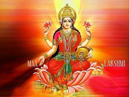 imagen Diosa Lakshmi