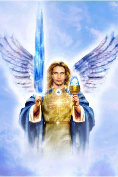 20170918 carolina396 id132345 archangel michael by frangomes d42es5p - Dos mensajes de los arcángeles Miguel y Uriel: te protegemos en estos tiempos convulsionados - hermandadblanca.org