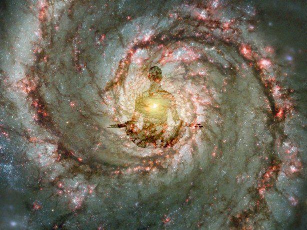 M51 Whirlpool Galaxy - ¿Cómo meditar para poder recuperar la salud? - hermandadblanca.org