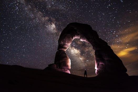 20171022 carolina396 id134154 delicate arch night stars landscape - Madre María y María Magdalena ~ Restauración del equilibrio - hermandadblanca.org