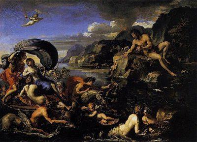Oceánidas, los dioses griegos de los ríos