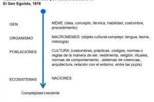Sociedad: Forma, Cambio y Escencia. De Genes y Memes. (complemento).