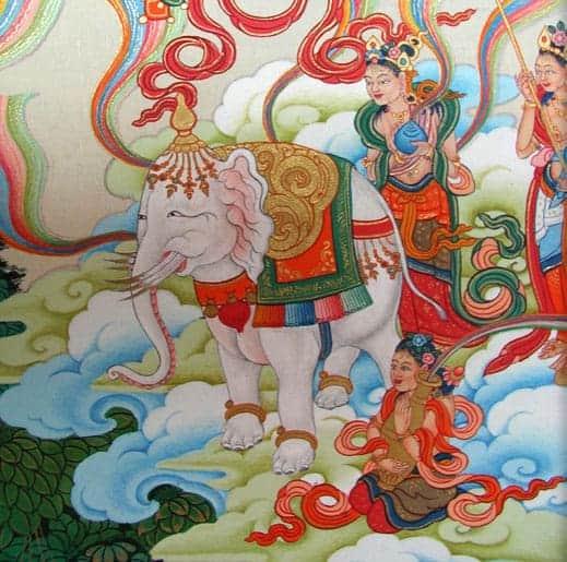 pintura thangka - ¿Qué es La Pintura Thangka? - hermandadblanca.org