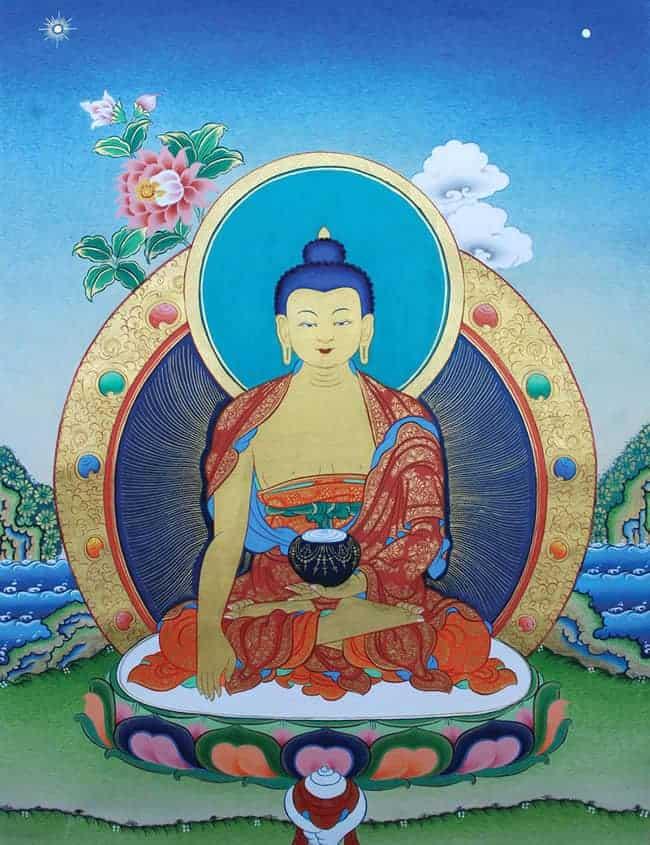 pinturathangkabuddha - ¿Qué es La Pintura Thangka? - hermandadblanca.org
