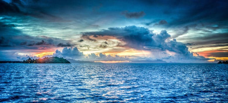 20180207 carolina396 id137899 bora bora french polynesia sunset ocean - Mensaje canalizado para los Trabajadores de la Luz  - hermandadblanca.org