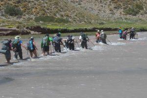 Caminata de amor y compasión en la Cordillera de Los Andes