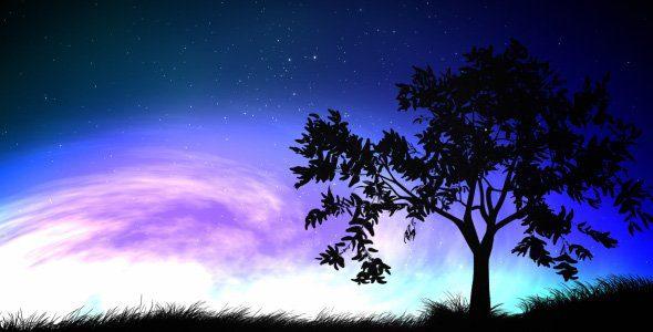 125 night sky and tree mensaje de sananda: abrazando a la oscuridad  ID148521 - hermandadblanca.org