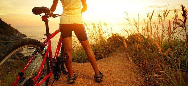 bicicleta excursion ejercicio naturaleza montana superpoderes akáshicos: el secreto ID150105 - hermandadblanca.org