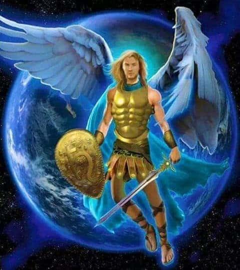 arcangel miguel mensaje del arcángel miguel; el príncipe de los ejércitos de Ángel ID150963 - hermandadblanca.org