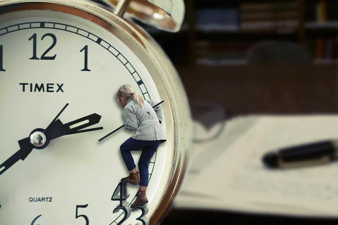 detener el tiempo aquí y ahora