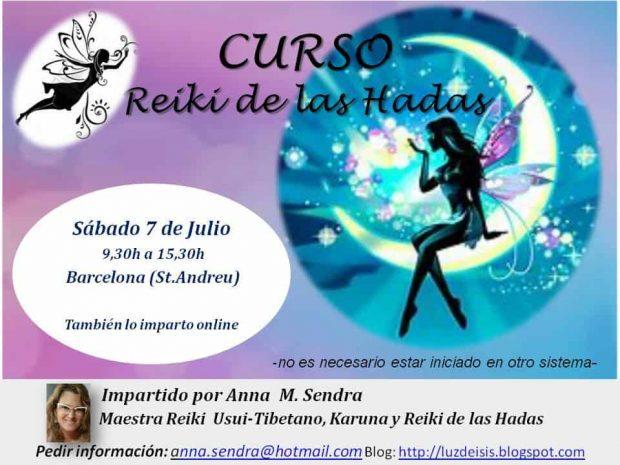 reiki de las hadas anna maria sendra flyer principal curso reiki hadas presencial online julio 2018 barcelona ID152761 - hermandadblanca.org