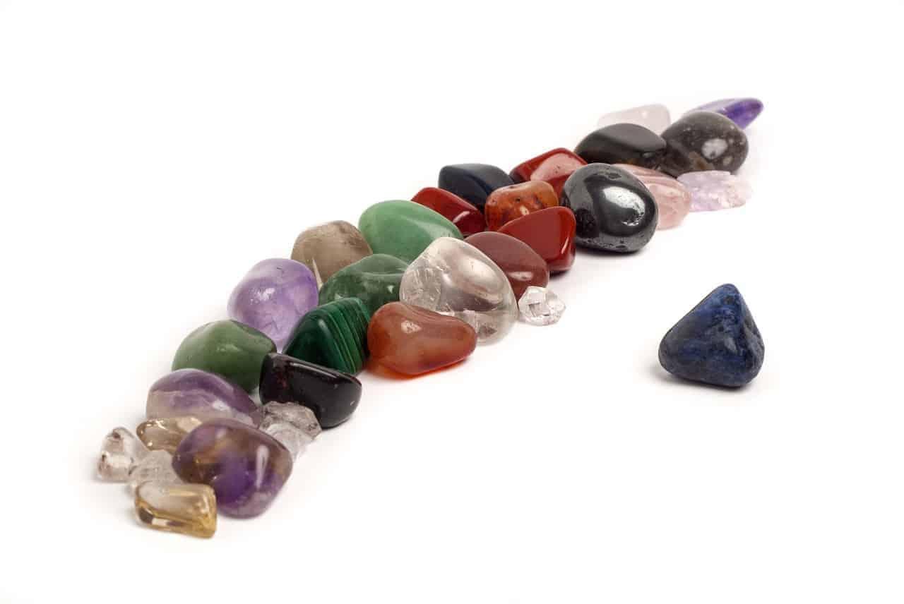 cristales para la limpieza de malas energías