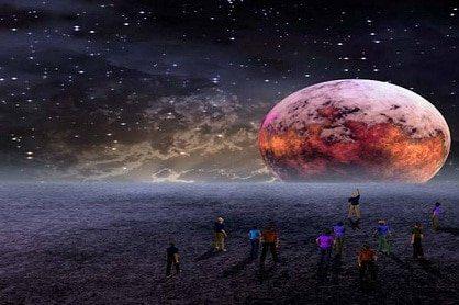 esfera espacio gente 630 mensaje del arcángel miguel: estrella del fuego cósmico sagrado, est ID154311 - hermandadblanca.org