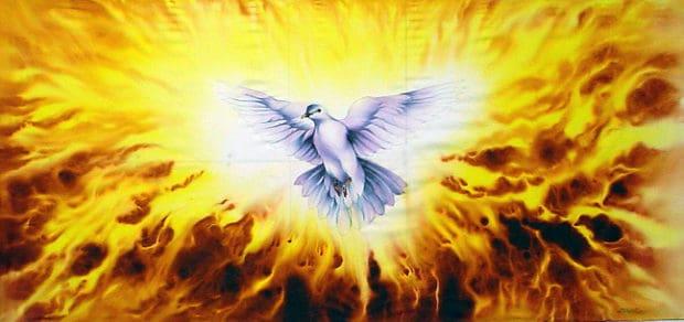 espiritusanto la vuelta de dios madre. canalización del 9.11.1990. ID154669 - hermandadblanca.org
