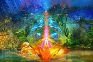 La alegría, la paz y el amor, un solo aliento de divinidad