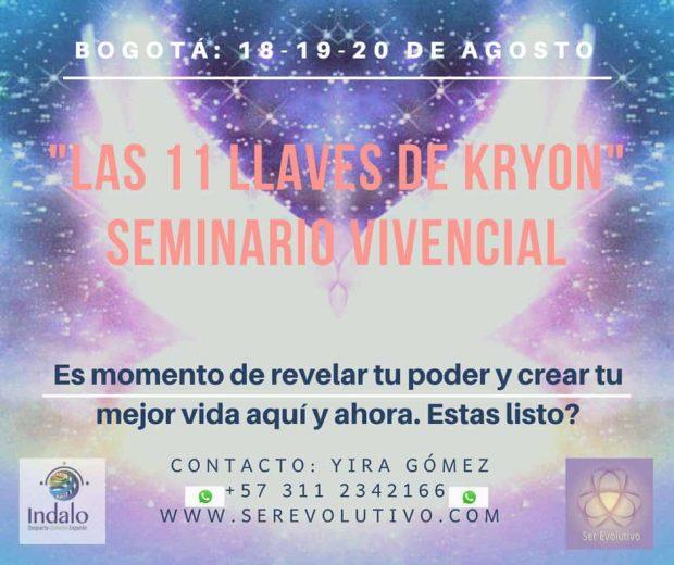 """ser evolutivo 11 llaves kryon bogota agosto 2018 seminario de 3 días """"vive a kryon en ti"""" ID153865 - hermandadblanca.org"""