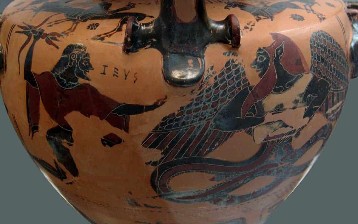 leyenda mitológica de la batalla con tifón