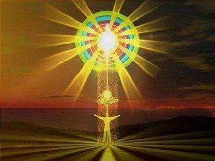 conexion con dios céntrate en lo que te depara el futuro y contribuirás a su realizaci ID156865 - hermandadblanca.org