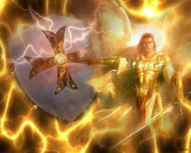 escudo arcángel miguel: tienes mi espada de luz, tienes mi escudo ID156951 - hermandadblanca.org
