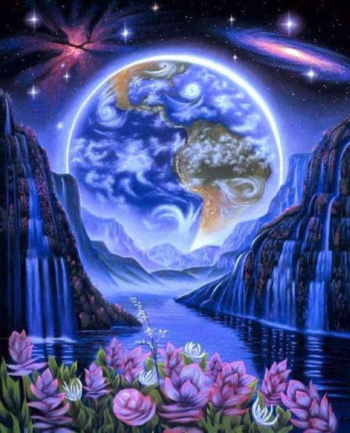 gaia dibujo azul consejo arcturiano de la novena dimensión: información para la ascen ID156957 - hermandadblanca.org