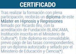 certificado formacion hipnologos certificados especialidad hipnosis regresiva rica ID157479 - hermandadblanca.org