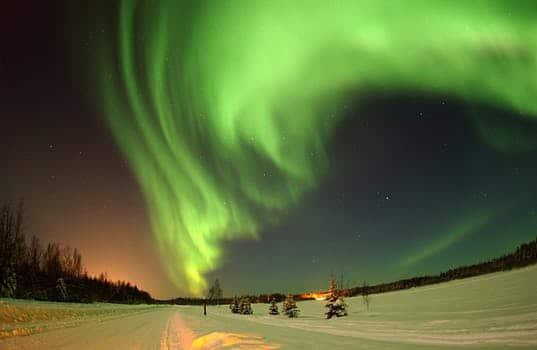 alaska wilderness sky aurora borealis 41004 arcángel rafael: respira el rayo verde esmeralda del amor y el poder ID160527 - hermandadblanca.org