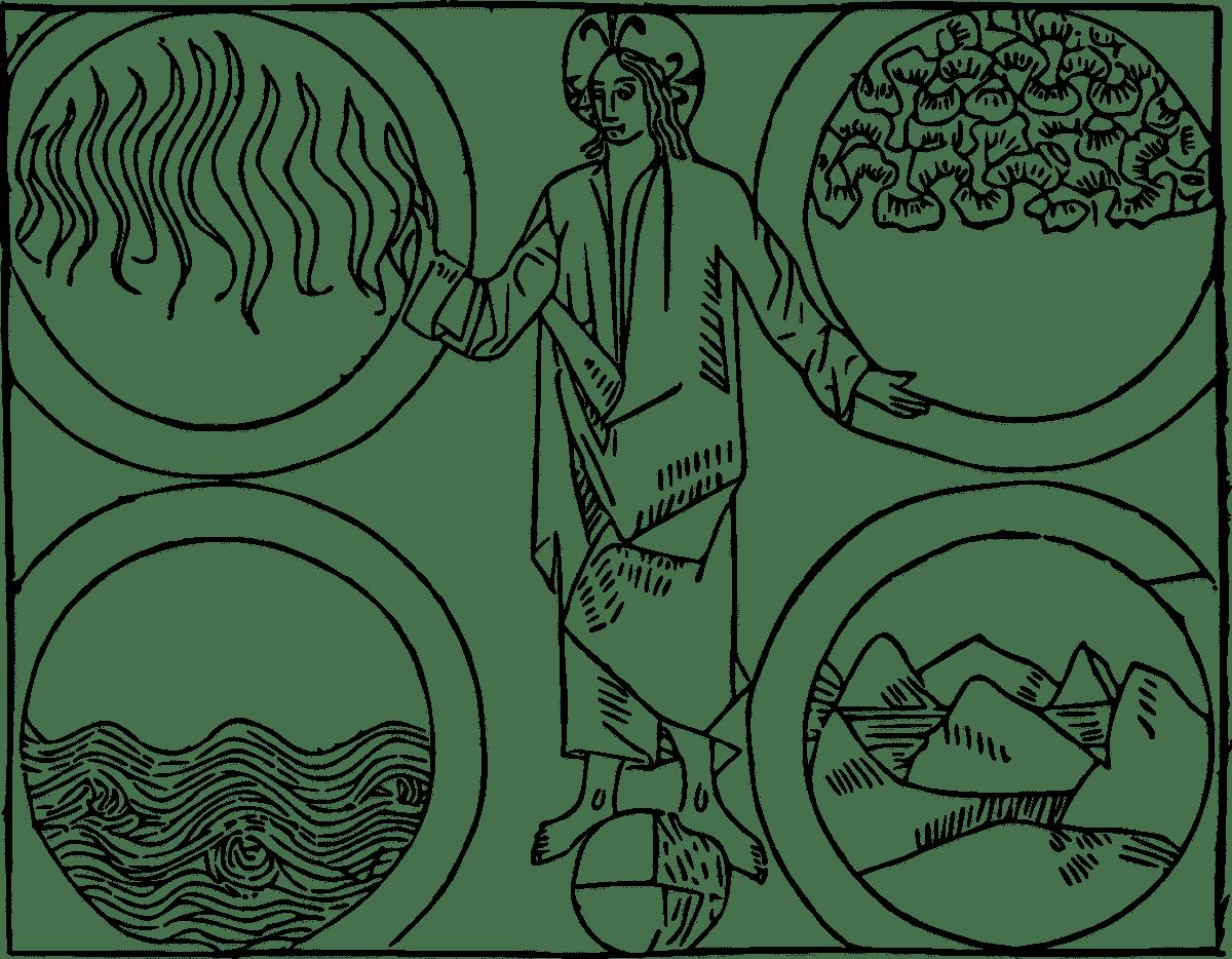 los cuatro elementos de la alquimia