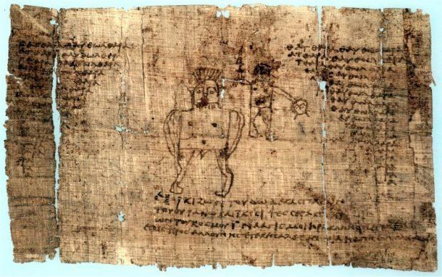 Papiro magico griego amuletos del mundo antiguo: mesopotamia, egipto y mediterráneo grecor ID163363 - hermandadblanca.org