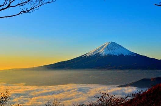 mt fuji sea of clouds sunrise 46253 la creación de tu verdad, por el arcángel miguel ID160941 - hermandadblanca.org