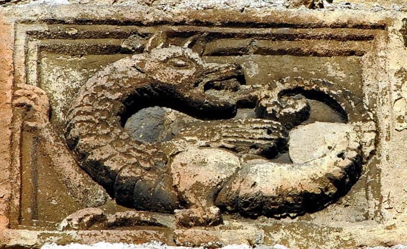 uróboros, símbolo de infinito