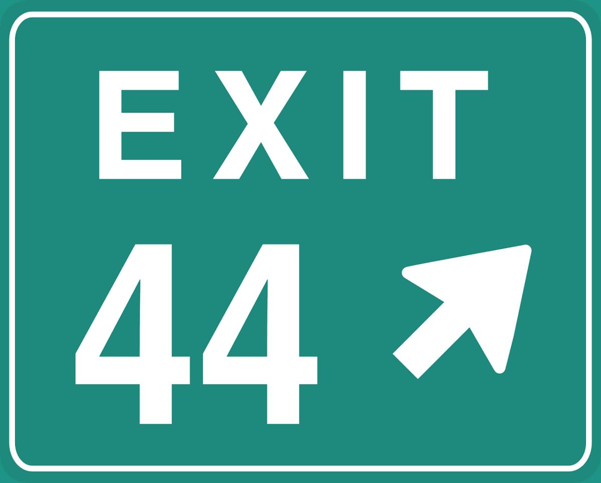 significado del número 44