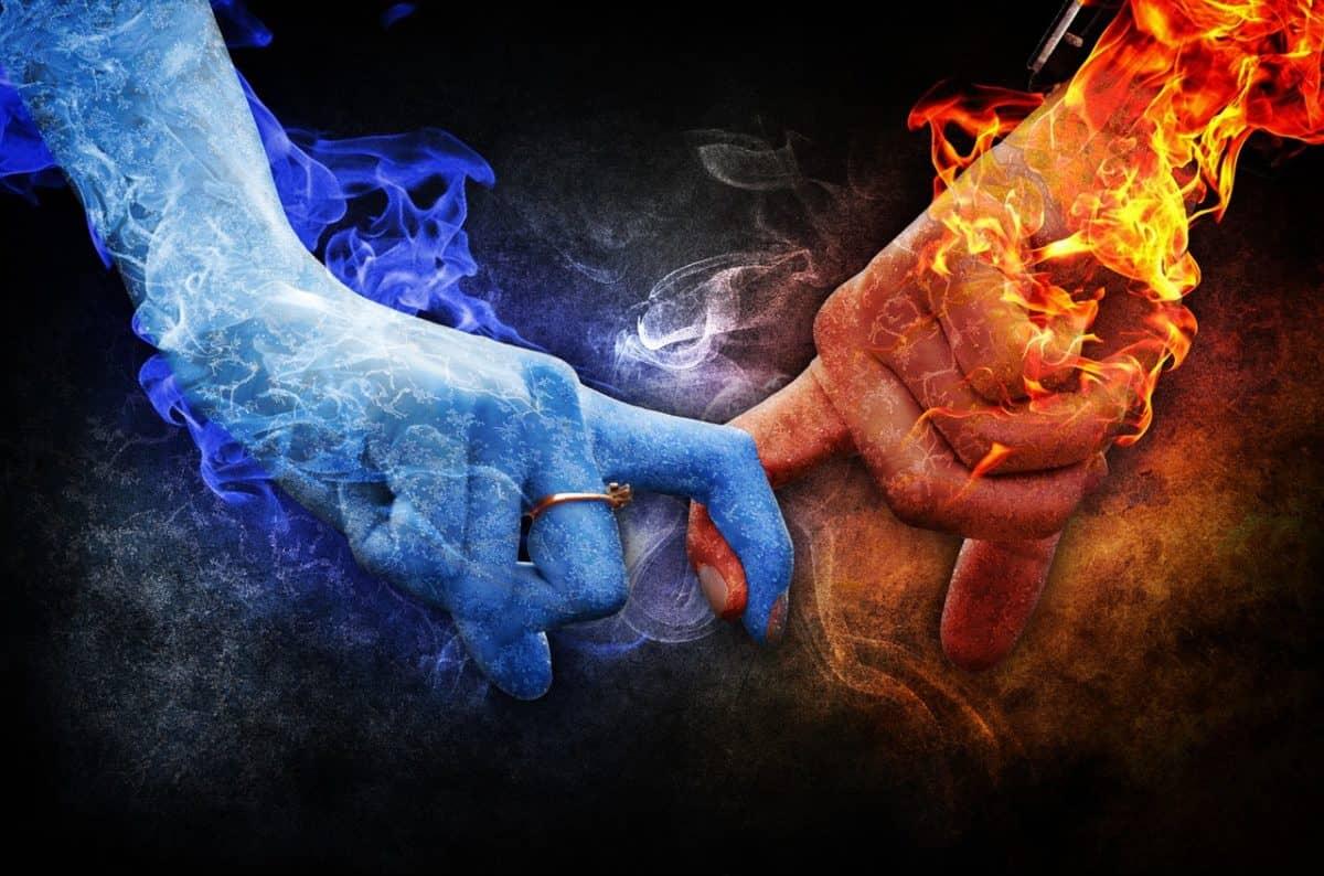 polaridad en energías femeninas y masculinas