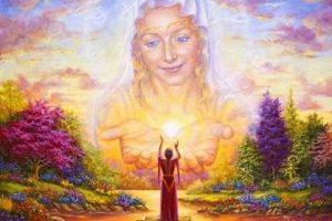 Mensaje de la Madre Divina: ¡Imagina el mundo en el que quieres vivir!
