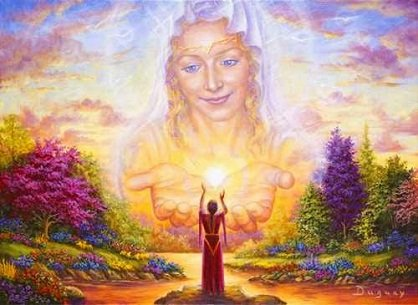 madre divina mensaje de la madre divina: ¡imagina el mundo en el que quieres vivir ID171492 - hermandadblanca.org