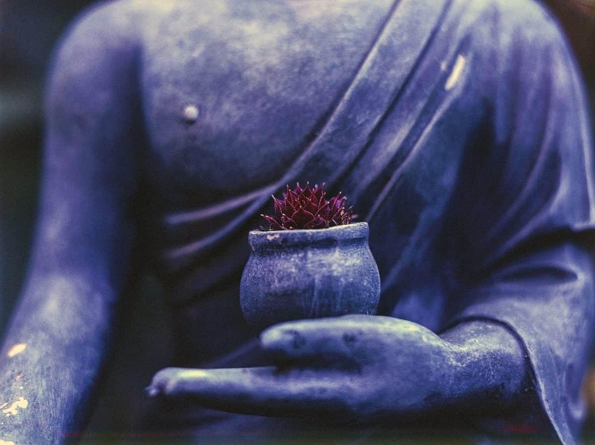 buda de la medicina tibetana