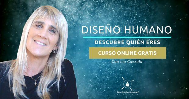 """portada invitación al curso gratis online: """"conociendo el diseño humano"""" ID171994 - hermandadblanca.org"""
