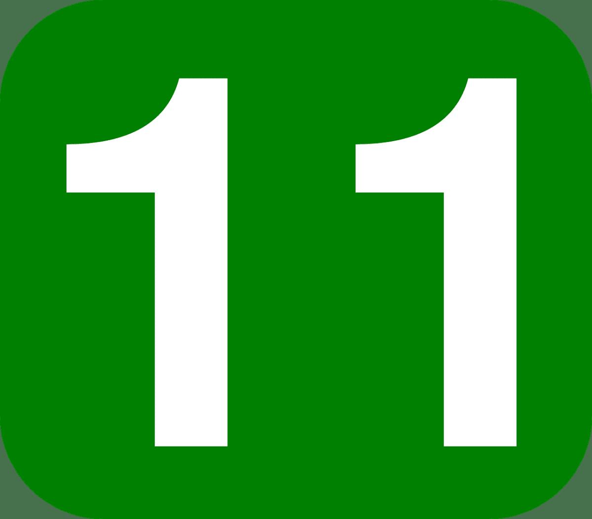 significado del número 11