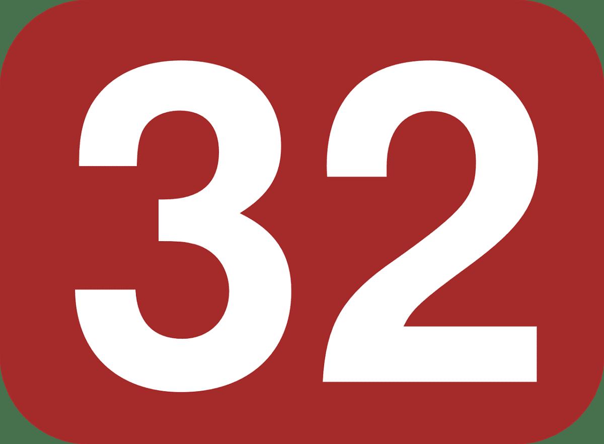 significado del número 32