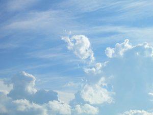 cielo el azul celeste y azul cobalto y su simbología para la psique ID176117 - hermandadblanca.org