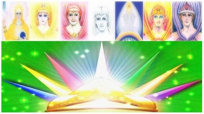 colores rayos mensaje de entidades cósmicas: decreto de conexión de los 7 rayos ID177149 - hermandadblanca.org