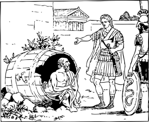 diogenes de sinope y alejandro magno lID176513 - hermandadblanca.org
