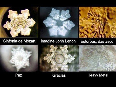 sanacion con los cristales del agua masaru emoto  música clásica para fortalecer el espíritu - hermandadblanca.org