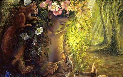 ostara mensaje de gaia: ¿es ostara la diosa olvidada de la primavera ID204177 - hermandadblanca.org